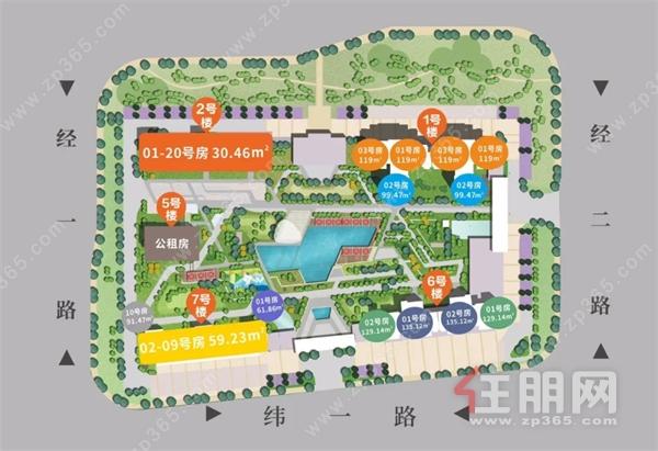10里滨江黄金线+容积率2.0+高拓展! 这个楼盘的户型设计, 惊艳到你了吗?