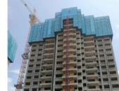 融安山湖海上城7月工程进度:1-3#楼已封顶