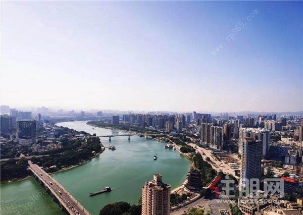 邕江實景圖