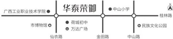 华泰荣御区位图