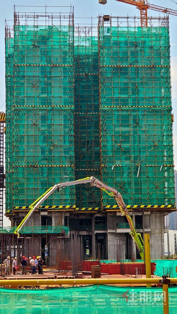 华泰荣御15#楼工程进度图