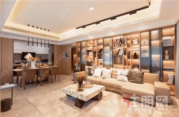 美的·悦江府丨建面约155m²巨幕观邸,以天幕丈量生活宽境