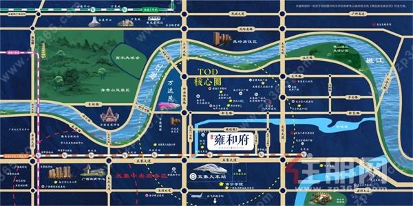 东鼎·雍和府出门即是学校,在售面积95-127㎡