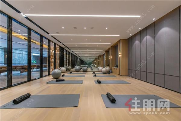 瑜伽室实景图