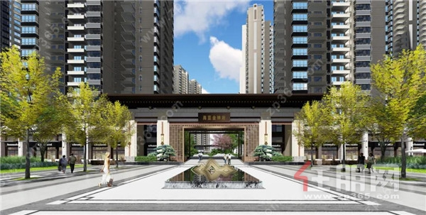 海蓝•金钟府:首付低至2万起,抢轻轨线学府房