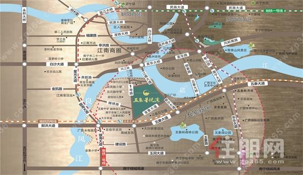 五象星悦湾双地铁助力出行,2号线1200米,距离地铁4号线仅500米