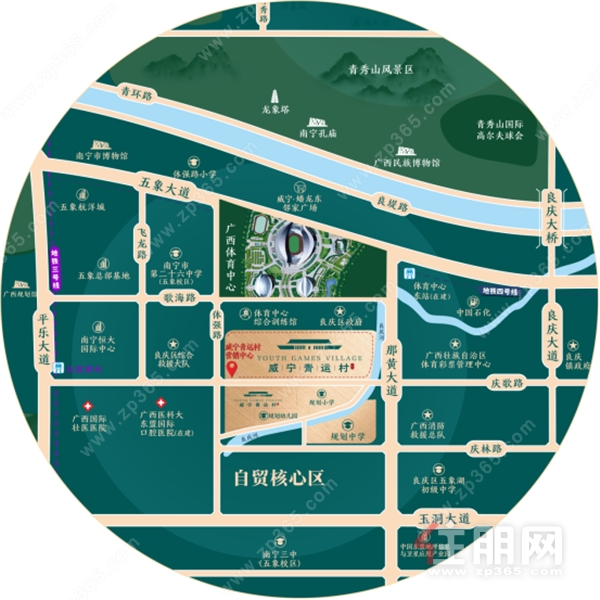 威宁青运村 | 解密!五象总部基地里的红盘户型