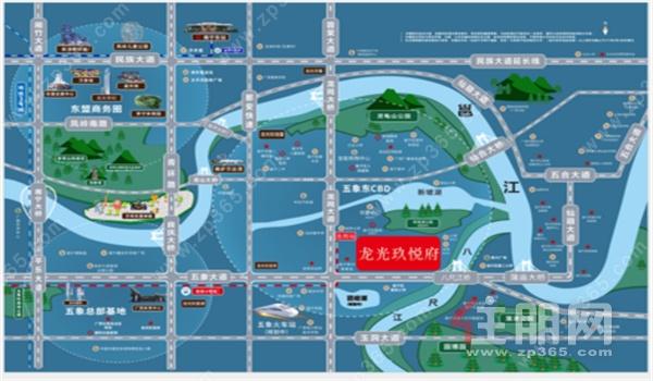 龙光·玖悦府近享地铁四号线龙岗站及五象火车站