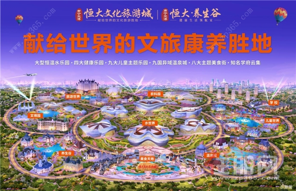 南寧空港恒大文化旅游城、恒大養生谷項目效果圖.png