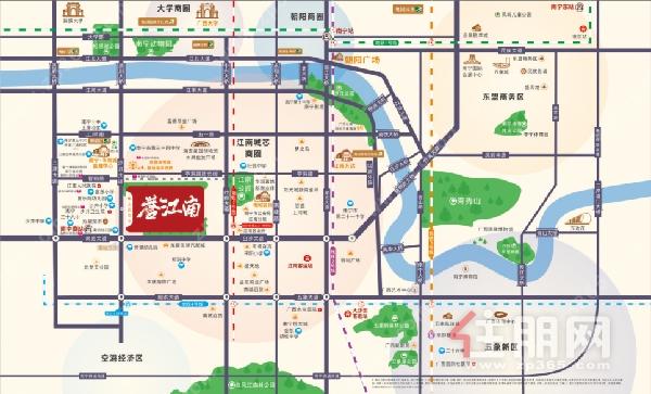 春季购房节5重特惠来袭,江南城芯标杆红盘8字头起