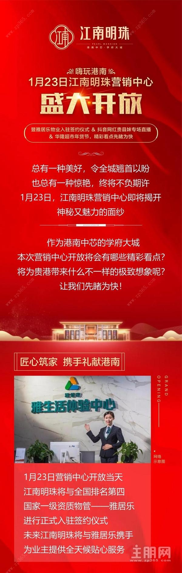 江南明珠宣传海报图