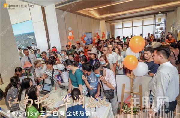 江南中心示范区震撼首开,超能级城市更新大盘燃动南宁