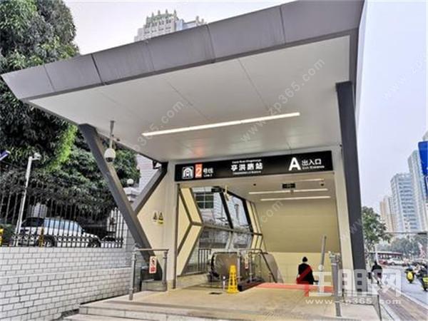 地铁二号线亭洪路站