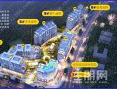 花漾城在售户型35/45/53㎡LOFT公寓,在售楼栋5#,参考价8000元/㎡,处于地铁3/5号线