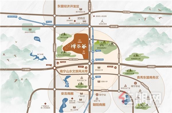 禅境山水钜作 ▏禅茶谷城市展厅盛大开放