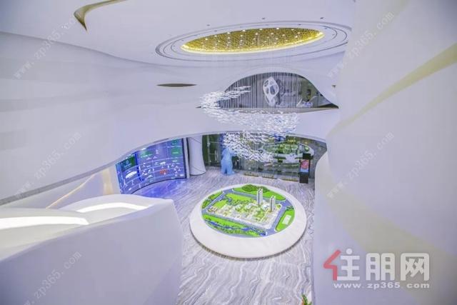 阳光城文澜府营销中心实景图