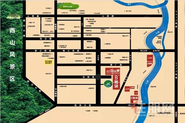 桂平奥园冠军城区位图