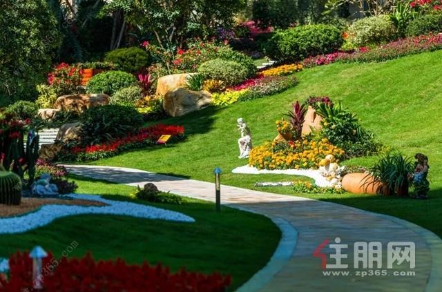 碧桂园·中央上城园林示意图
