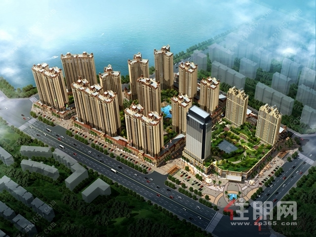 广汇·东湖城鸟瞰图