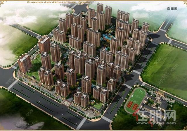 广汇·圣湖城鸟瞰图