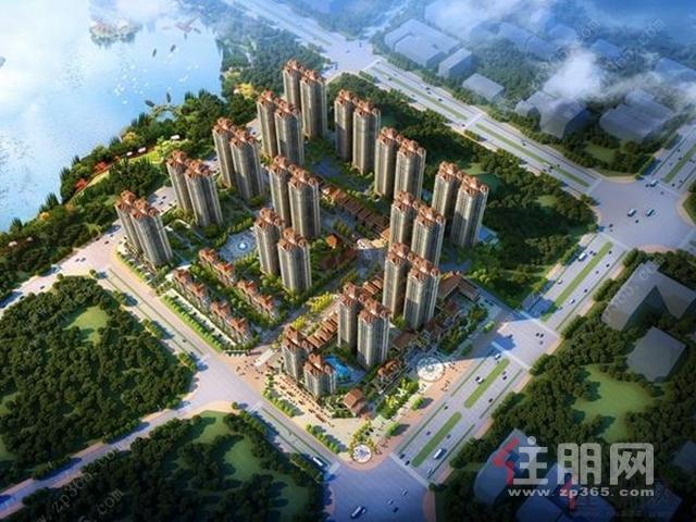 广汇·钰荷园鸟瞰图