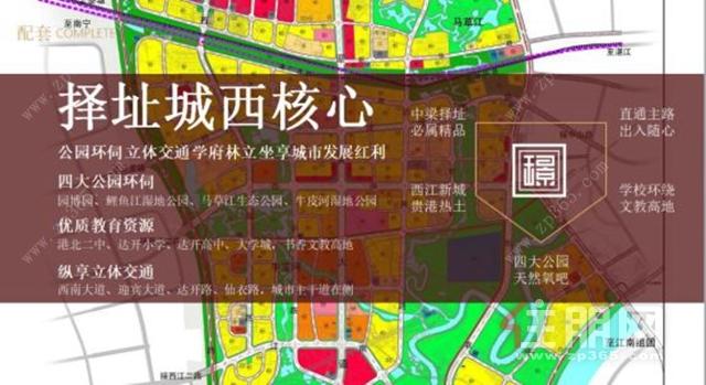 城市区域蓝图