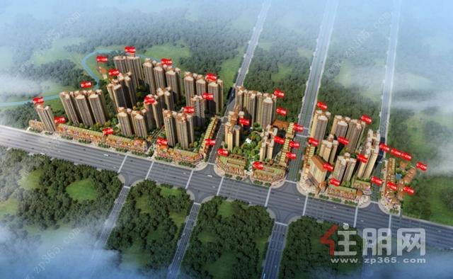 桂鹏世纪城效果图