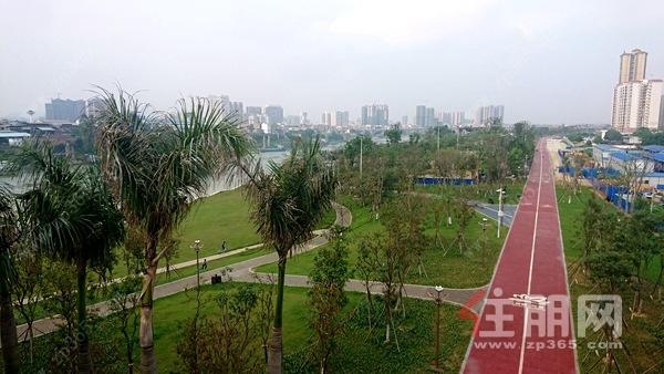 贵港滨江公园实景