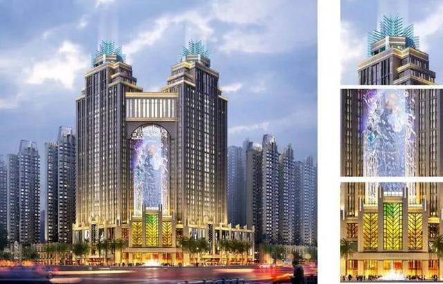 昊业·中心城项目效果图