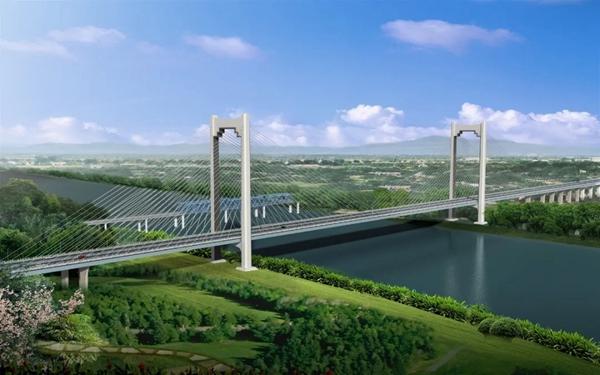 江南大桥效果图