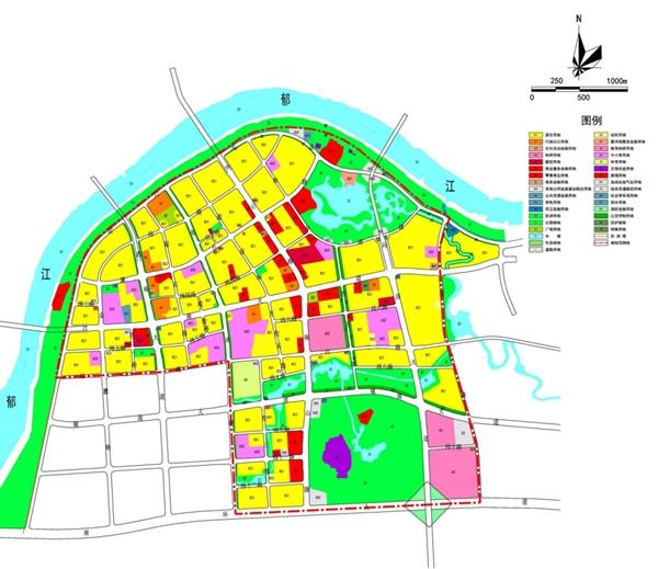 港南区2020-2030用地规划