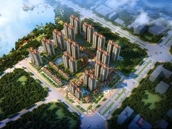 广汇·钰荷园项目鸟瞰图