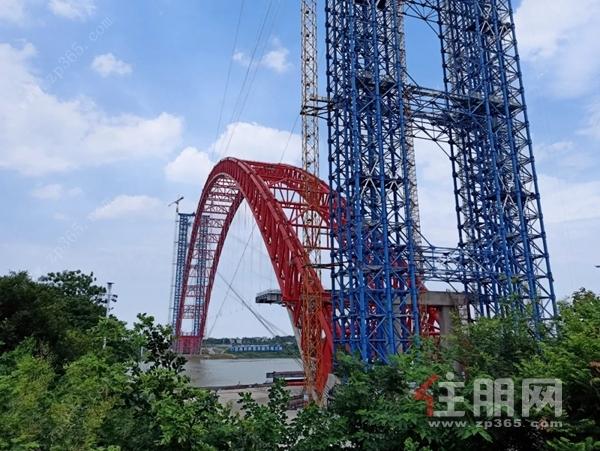 平南三橋實景圖(建設中)