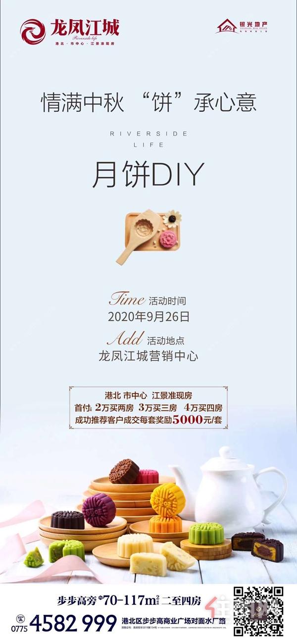 龙凤江城活动海报图