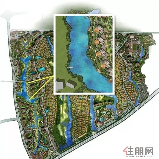 滨水休闲园林设计图大曝光|楼盘