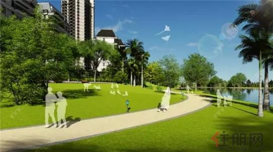 嘉和城7层电梯洋房 滨水休闲园林设计图大曝光-资讯