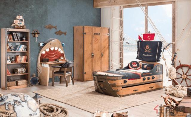 儿童房装修设计,五款方案给你灵感!