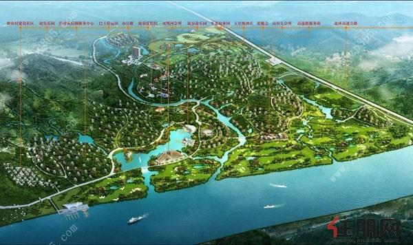 哪有首席不翻番,低密大宅,首望林海,柳州地址别墅度假区!百家温泉花园别墅湖图片