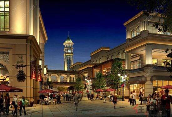 将推出国际风情商业街
