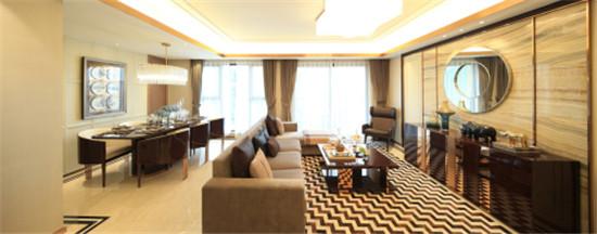 横厅设计,沙发摆放位置比较随意