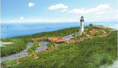 涠洲岛南湾鳄鱼山景区创建国家5a级旅游景区.