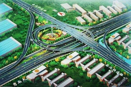 全程立交,无红绿灯的城市快速路建成后,由南宁西面到东面,大约只需半