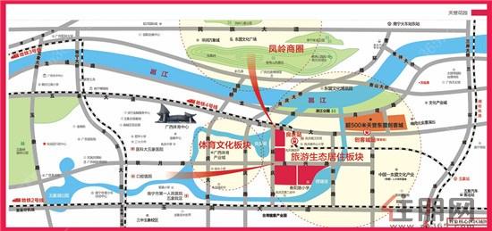 青岛开发区唐宁国际地图