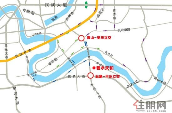 南宁柳沙半岛地图