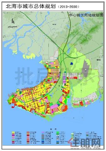 北海园博园,北海鲤鱼地湿地保护公园,七星江水库等绿植景地,强大的