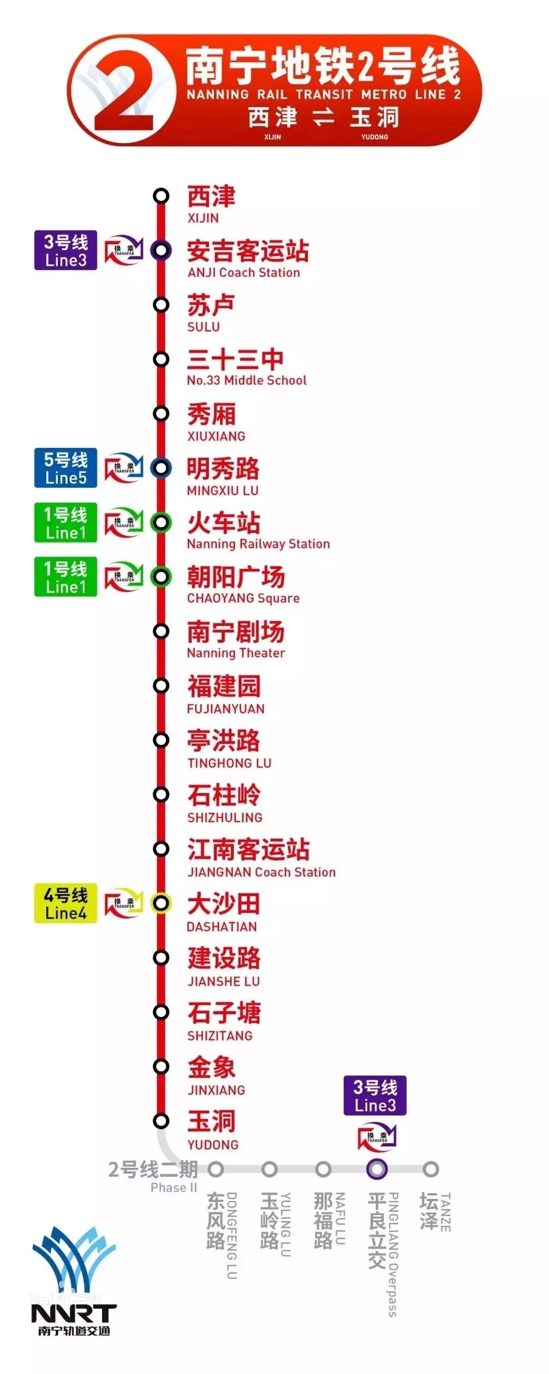南宁地铁2号线