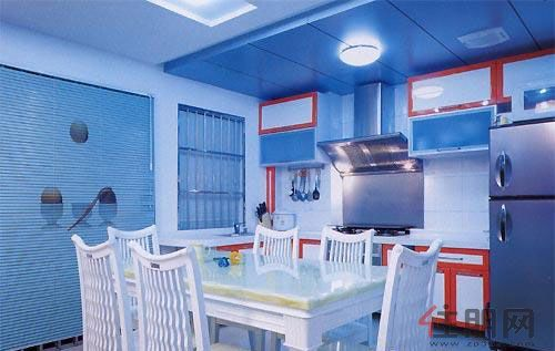 幼儿园蓝色墙面设计图
