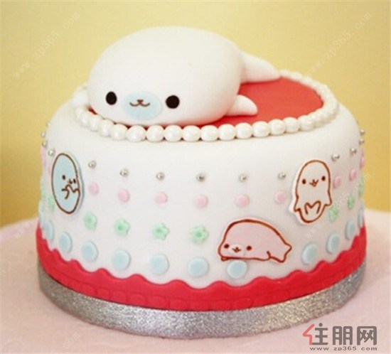 漂亮的蛋糕 可爱