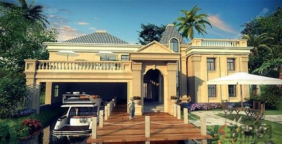 欧式住房一别墅设计图