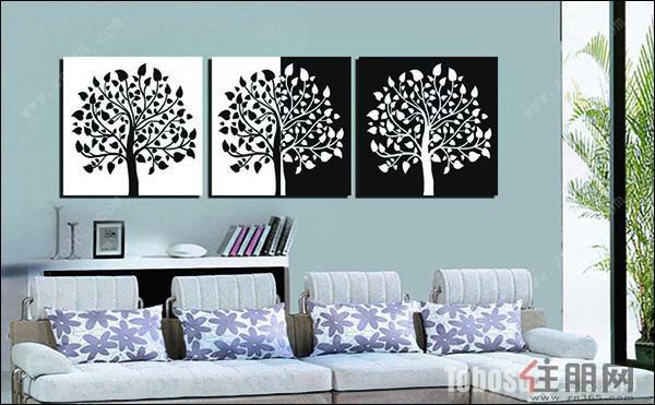 客厅背景墙挂画风水你知道哪些呢